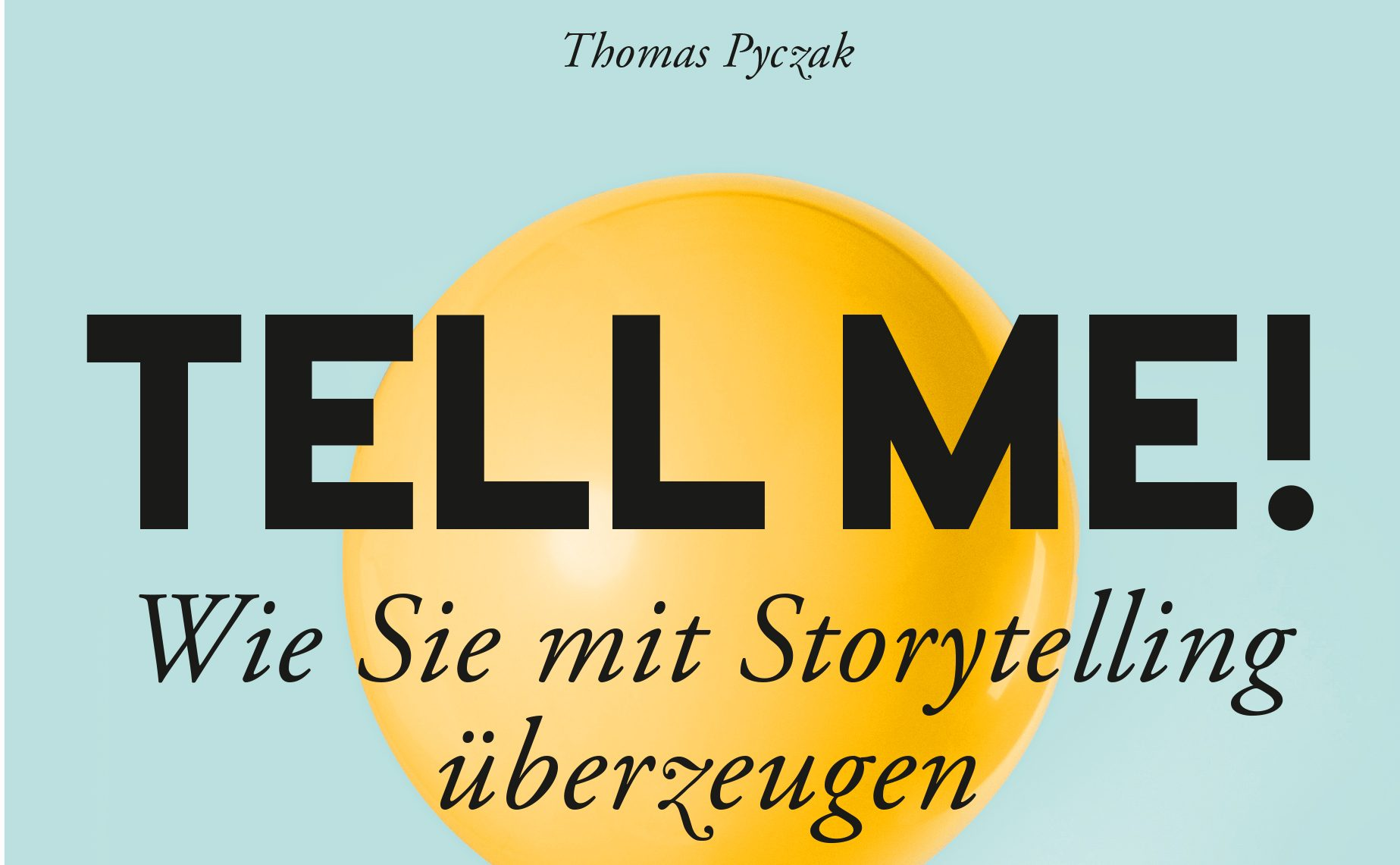 Tell Me Titel Thomas Pyczak