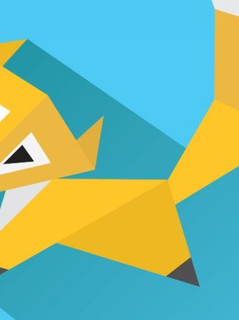 Unternehmens-Metapher Fuchs oder Igel