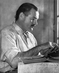 Ernest Hemingway: Gute Geschichten sind wie Eisberge