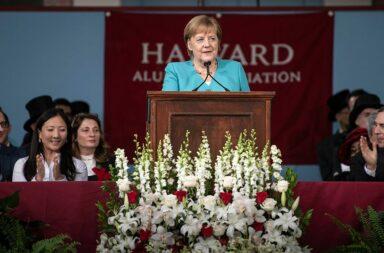 Harvard-Rede von Angela Merkel